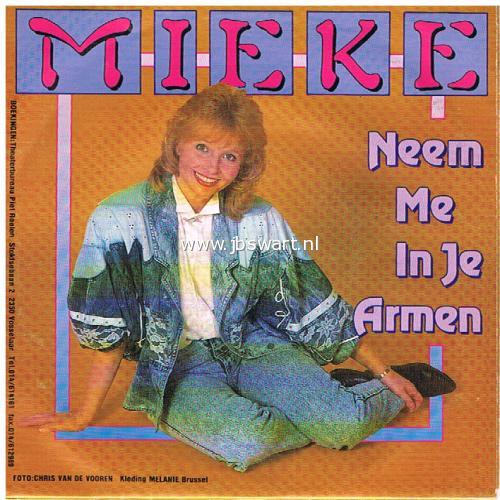 Jbswart De Platenkoning Mieke Neem Me In Je Armen