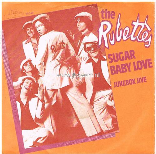 Jbswart De Platenkoning The Rubettes Sugar Baby Love