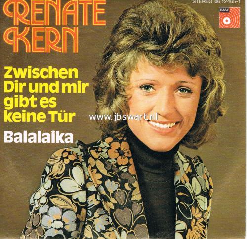 Renate Kern - Du Mußt Mit Den Wimpern Klimpern / Herbstwind